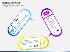 Message shapes PPT slide 3