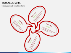 Message shapes PPT slide 4