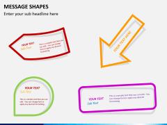 Message shapes PPT slide 6