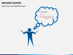 Message shapes PPT slide 7