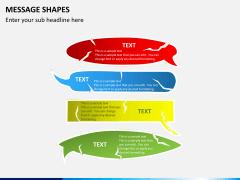 Message shapes PPT slide 8