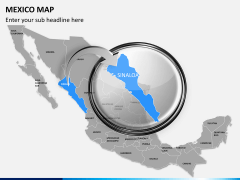 Mexico map PPT slide 15