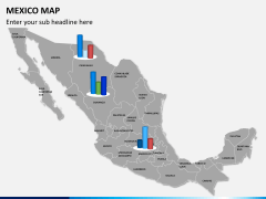 Mexico map PPT slide 19