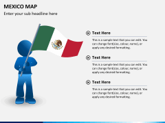 Mexico map PPT slide 26