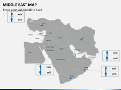 Middle east map PPT slide 15