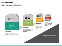 Milestones PPT slide 10
