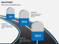 Milestones PPT slide 1