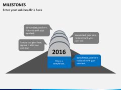 Milestones PPT slide 2