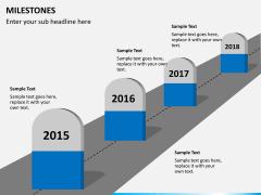 Milestones PPT slide 4