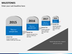 Milestones PPT slide 5