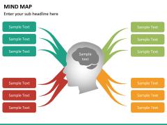 Mind map PPT slide 17