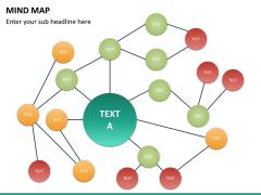 Mind map PPT slide 23