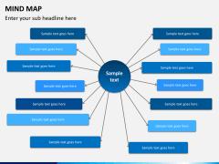 Mind map PPT slide 10