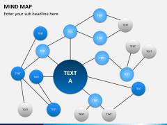 Mind map PPT slide 9