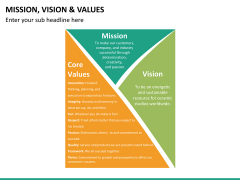 vision and values PPT slide 17
