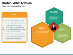 vision and values PPT slide 10