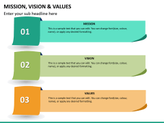 vision and values PPT slide 12