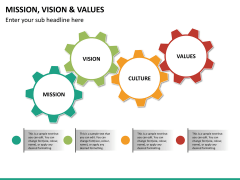 vision and values PPT slide 13