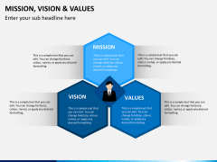 vision and values PPT cover slide