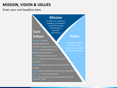vision and values PPT slide 8