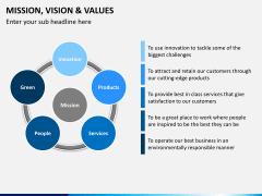Vision and mission bundle PPT slide 18