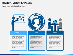 vision and values PPT slide 2