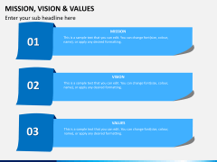 vision and values PPT slide 3