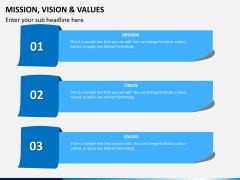 Vision and mission bundle PPT slide 7