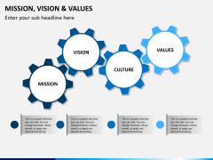 vision and values PPT slide 4