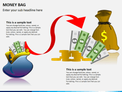 Money bag PPT slide 1