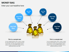 Money bag PPT slide 3