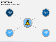 Money bag PPT slide 7
