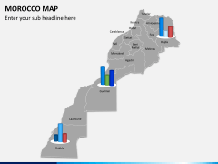 Morocco map PPT slide 12