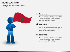 Morocco map PPT slide 18
