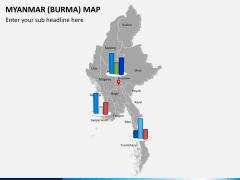 Myanmar (Burma) Map PPT slide 16