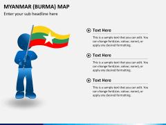 Myanmar (Burma) Map PPT slide 23