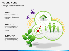 Nature icons PPT slide 6