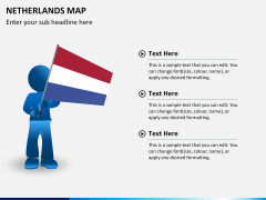 Netherlands map PPT slide 18