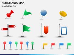 Netherlands map PPT slide 20