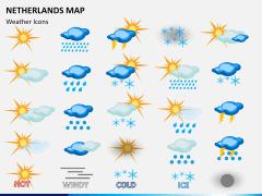 Netherlands map PPT slide 21