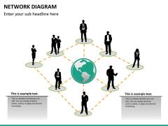 Network diagram PPT slide 9