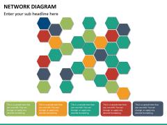 Network diagram PPT slide 12