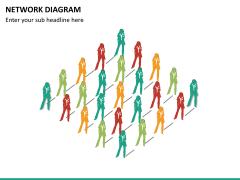 Network diagram PPT slide 13
