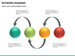 Network diagram PPT slide 14