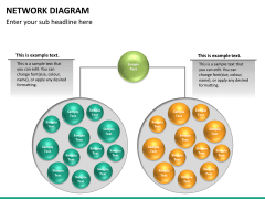 Network diagram PPT slide 16
