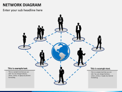 Network diagram PPT slide 1