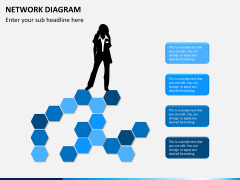 Network diagram PPT slide 7