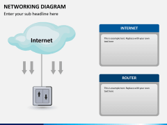 Networking diagram PPT slide 4