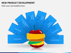 New product development PPT slide 1