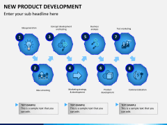New product development PPT slide 3